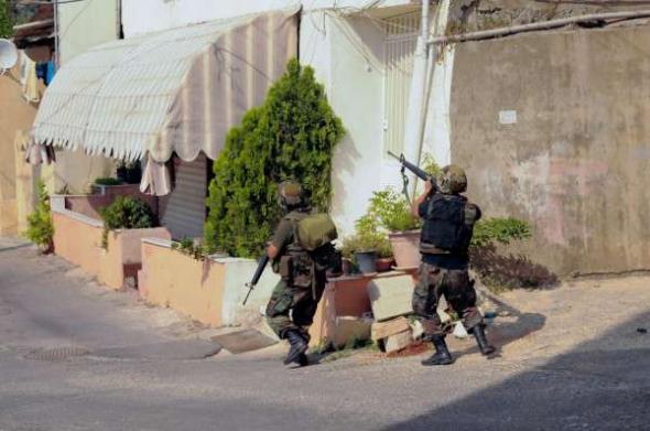 Conflicto Líbano 2013 militares