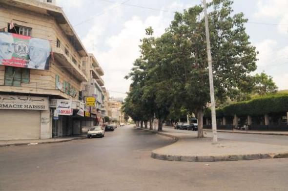 Conflicto Líbano 2013 calle