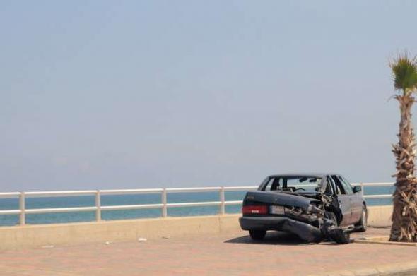 Conflicto Líbano 2013 coche