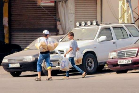 Conflicto Líbano 2013 niños