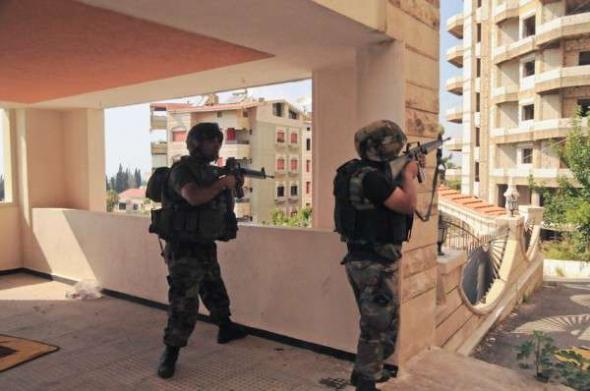 Conflicto Líbano 2013 soldados