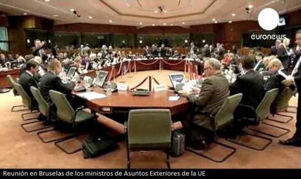 Reunión ministros Exteriores UE