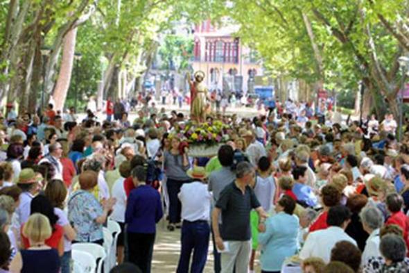 Fiesta san Juan Albacete 2013