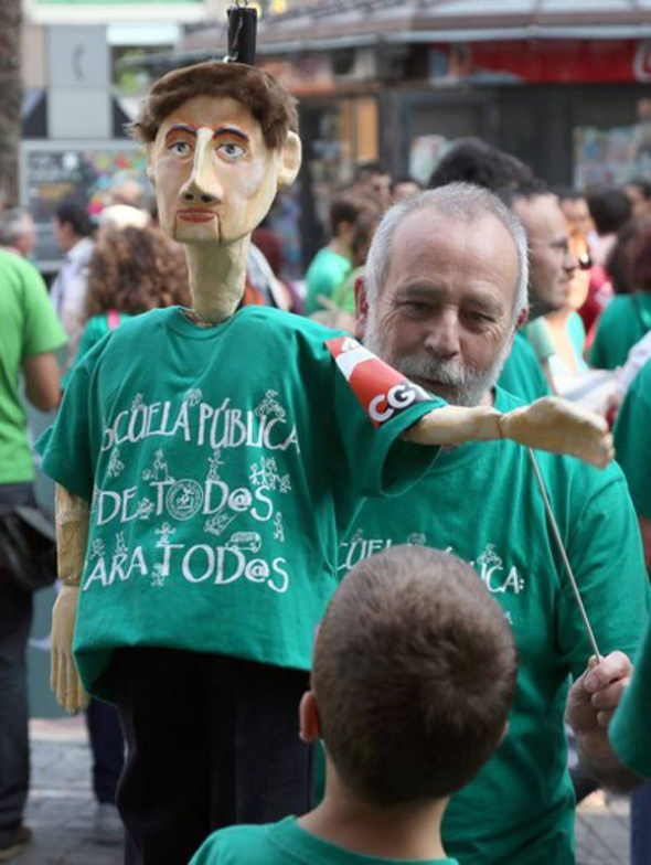 Mani anti LOMCE Valladolid 2013