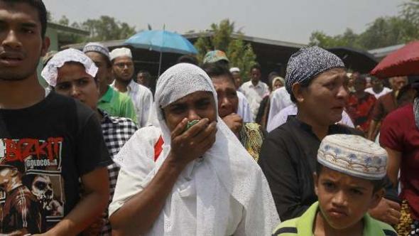 musulmanes birmanos