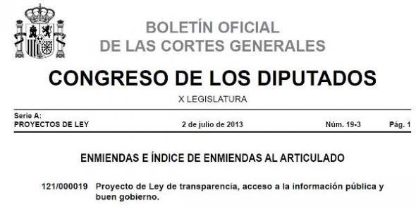 Boletin Congreso Ley Transparencia