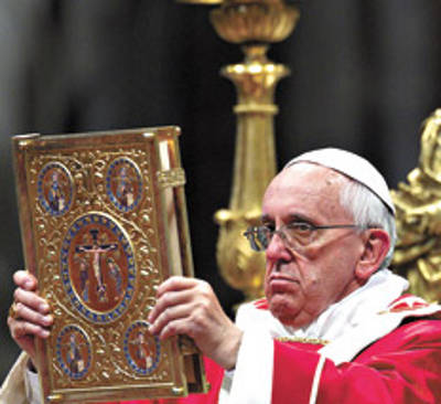 Bergoglio de ceremonial