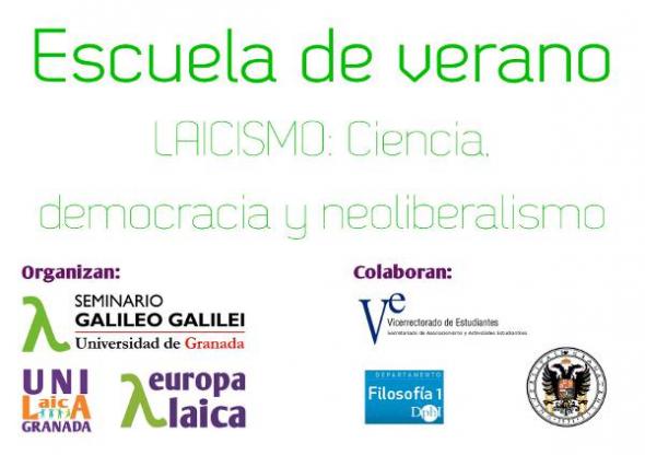 cartel Escuela Verano 2013