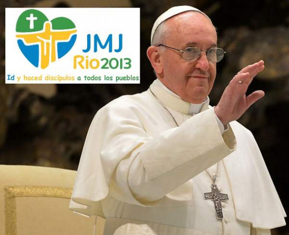 Bergoglio y JMJC 2013 Brasil