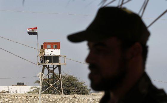 Puesto vigilancia Egipto