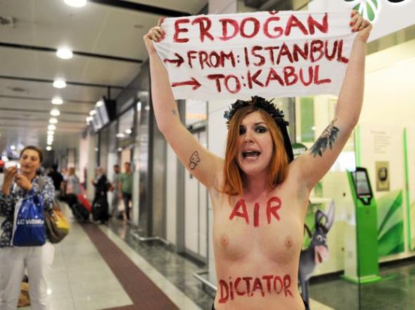 Protesta FEMEN Estambul