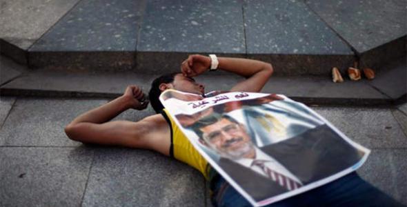 Manifestante islamista Egipto 2013