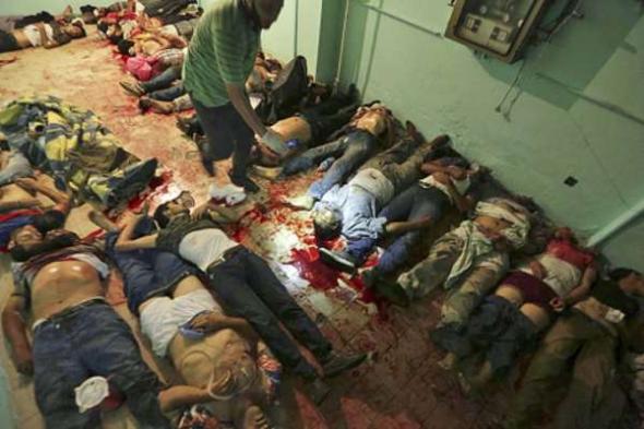 islamistas muertos El Cairo 2013