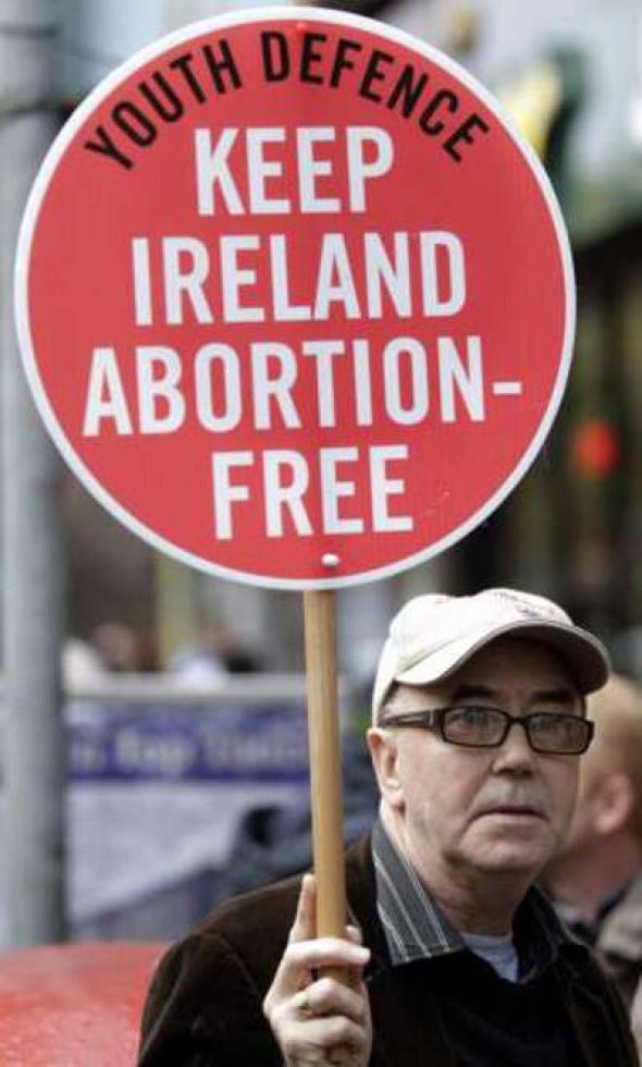 anti aborto Irlanda 2013