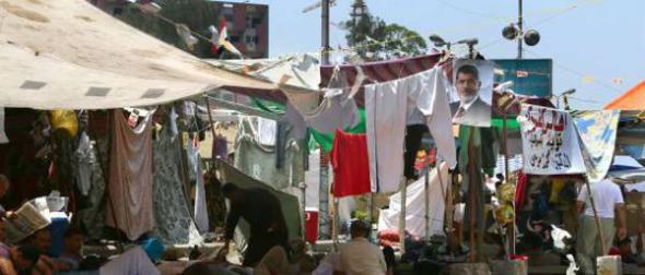 Campamento islamistas El Cairo 2013