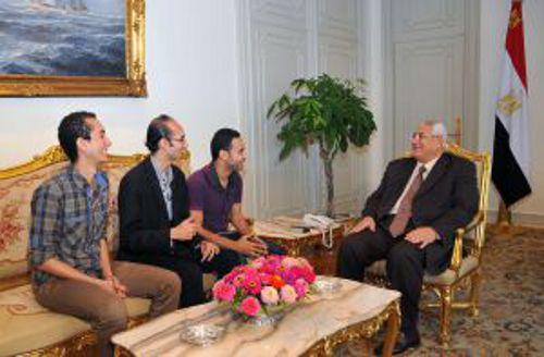 Lideres Tamarod Egipto presidente interino 2013