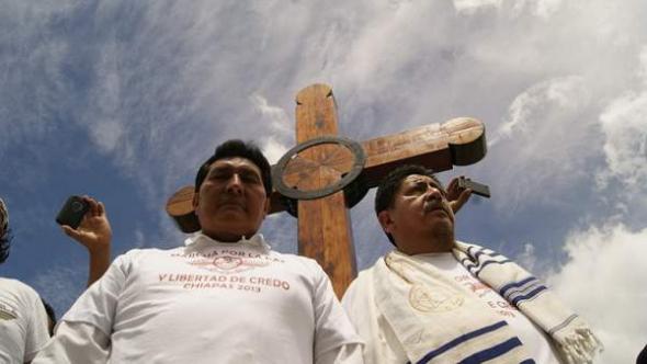 Mani evangélicos Chiapas 2013