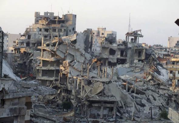 Homs ciudad siria 2013