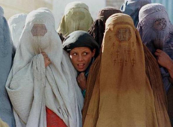 mujeres afganas burka