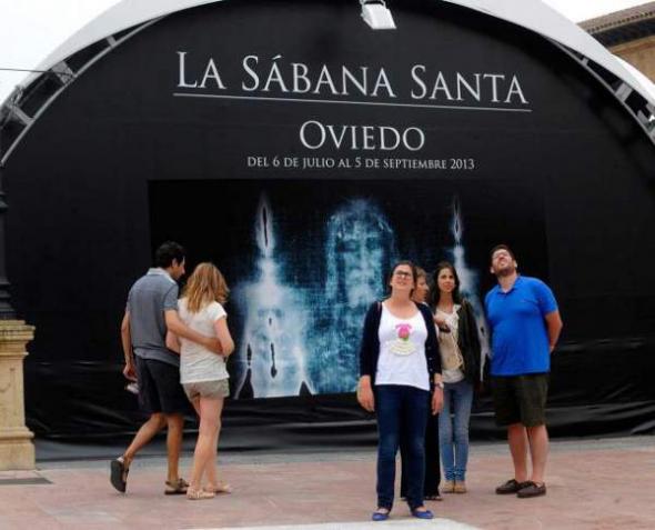 Sábana santa Oviedo 2013 expo
