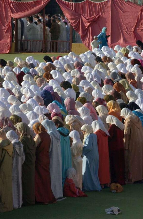 mujeres Melilla Ramadán 2006