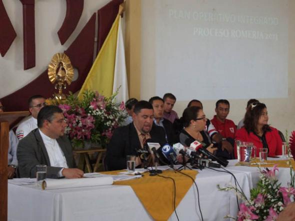 Alcalde romería Costa Rica 2013