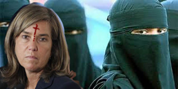Ana Mato burka