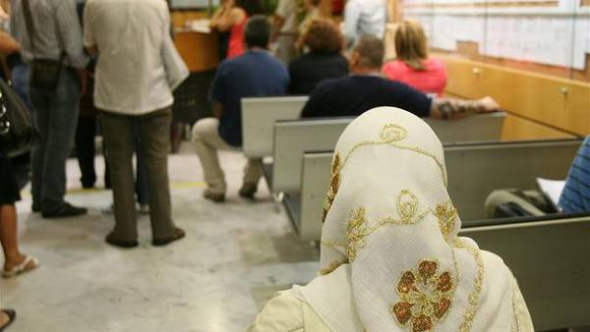 mujer musulmana con velo