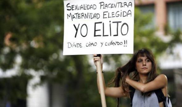 protesta recortes reproducción asistida 2013