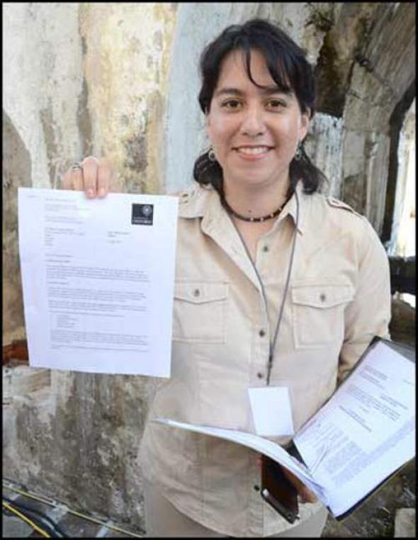 Raquel estudiante Veracruz