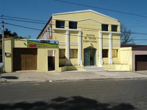 templo pentecostal Uruguay
