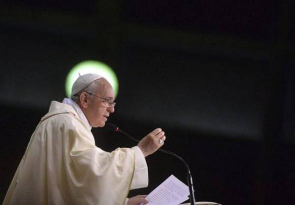 Bergoglio visita Brasil 2013