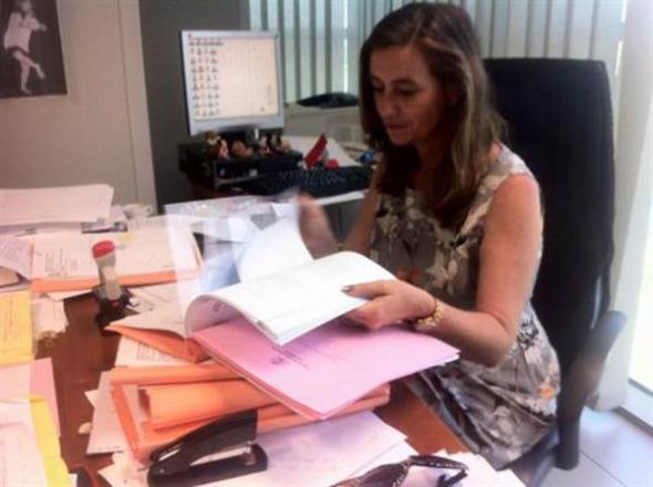 Susana Gisbert fiscal