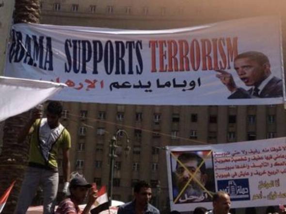 mani anti islamista Egipto 2013