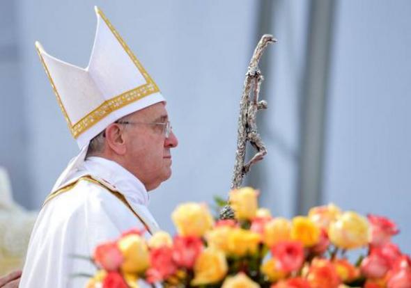 Bergoglio Brasil 2013