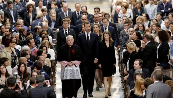 autoridades funeral oficial Santiago 2013