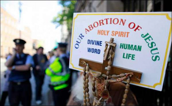 mani anti aborto Irlanda 2013