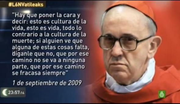 Bergoglio y aborto