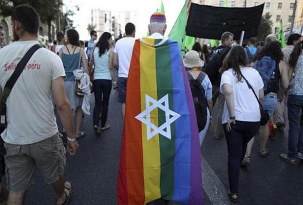 mani gay Jerusalen 2013