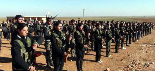 milicias kurdas Siria