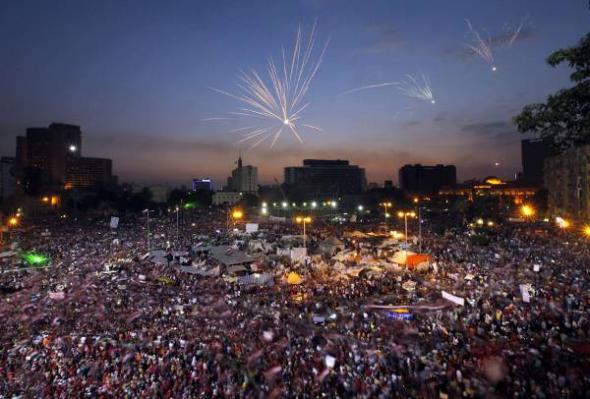 Mani plaza Tahrir Egipto 2013