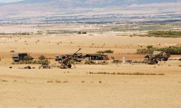 operaciones militares Túnez 2013