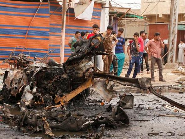 coches bomba Irak