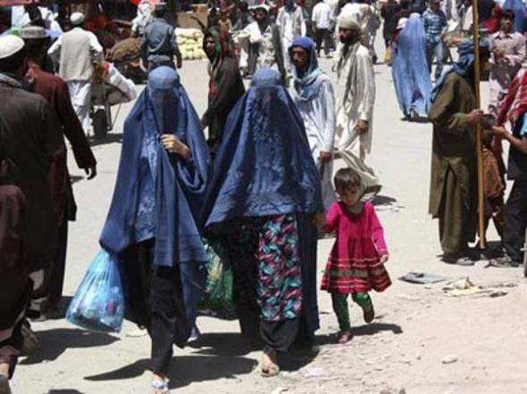 afganas con burka