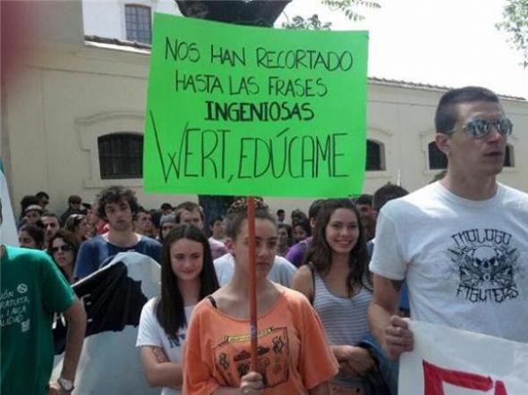 Mani contra Wert LOMCE