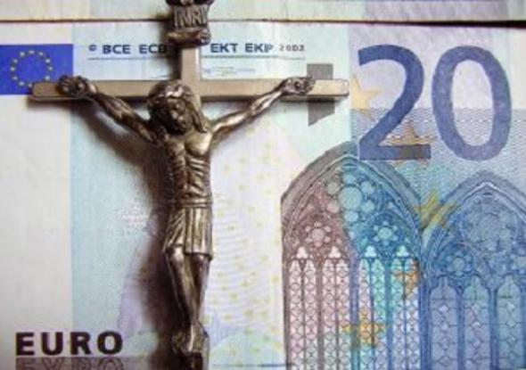 dinero iglesia