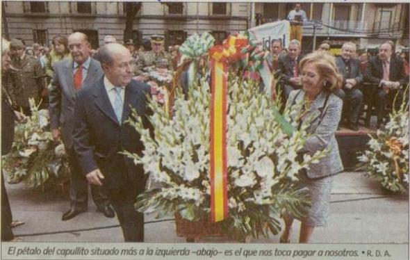 ofrenda floral patrona Granada 2006