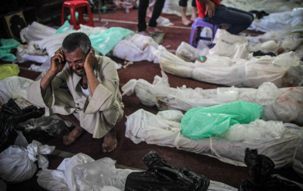 desalojo islamistas Egipto 2013