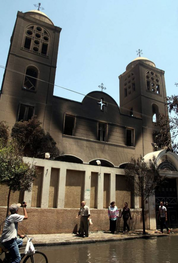 iglesia coptos Egipto 2013