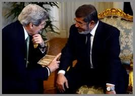 Kerry, Morsi